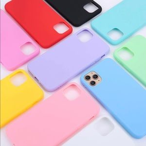 Red Silicone iPhone 11 Pro Max Phone Case